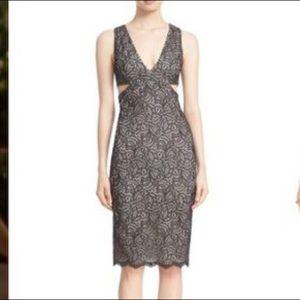 Alicia and Olivia  lace dress